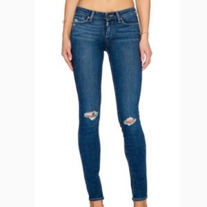 Paige Verdugo Ultra Skinny Ripped Knee Jeans